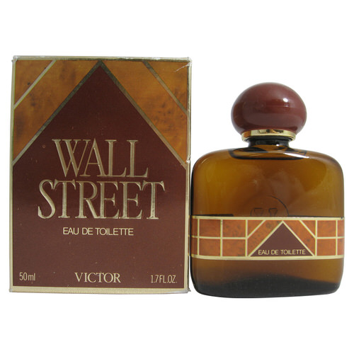Wall Street by Victor 1.7 oz EDT splash for men