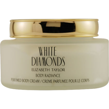 White Diamonds by Elizabeth Taylor 8.4oz/250ml Body Cream
