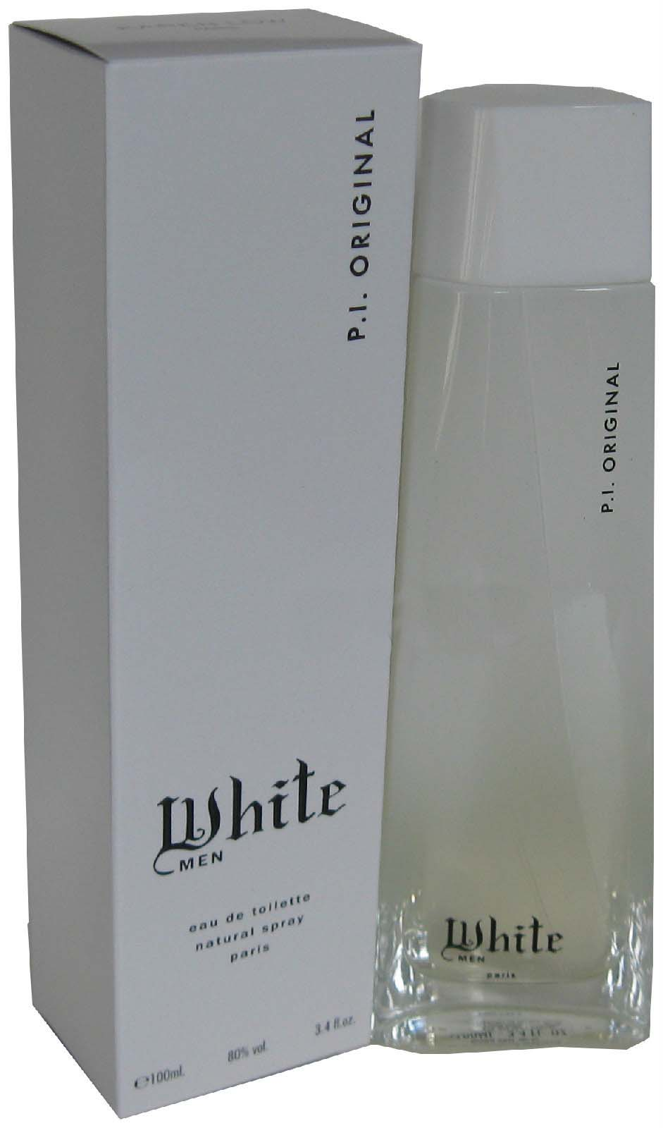 White P.I. Original by Karen Low 3.4 oz EDT for men