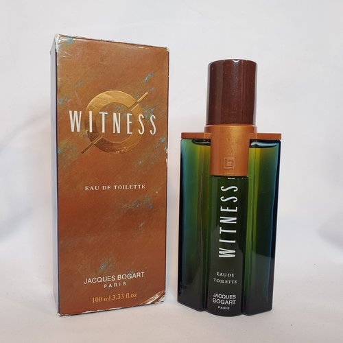 Witness by Jacques Bogart 3.3 oz EDT splash for men