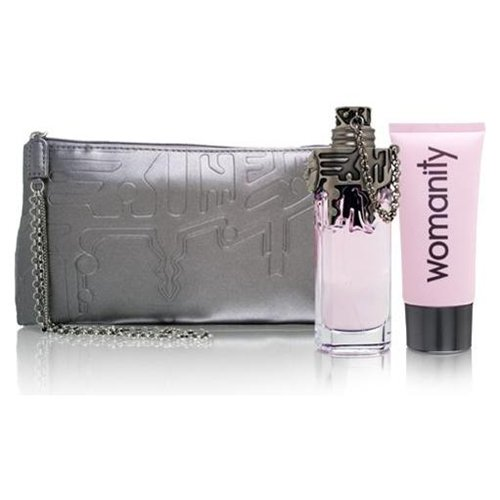 Womanity by Thierry Mugler 3 Pc Gift Set for women