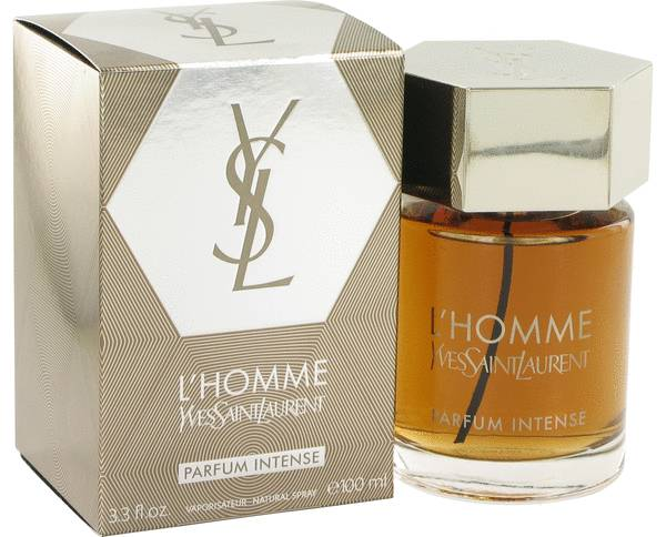 l 39 homme parfum intense by yves saint laurent 3 3 oz edp for men om fragrances. Black Bedroom Furniture Sets. Home Design Ideas