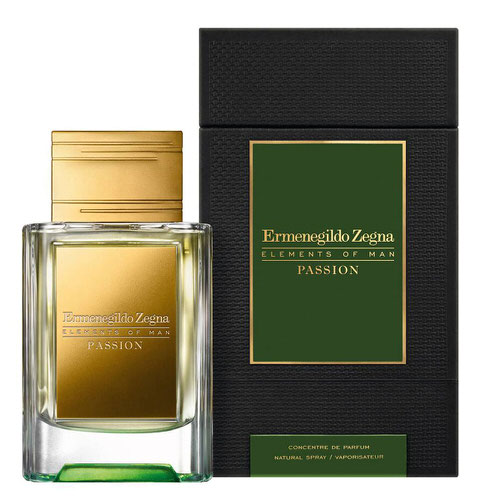 Ermenegildo Zegna Elements of Man - Passion 1.7 oz Parfum
