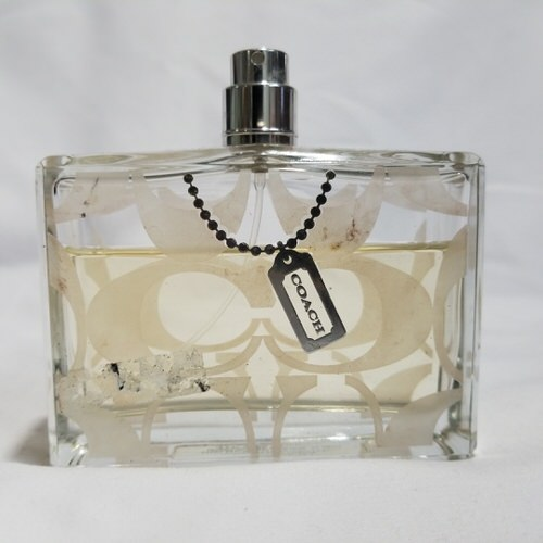 Coach Signature 3.4 oz EDT unbox 70% full for women
