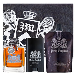 Dirty English by Juicy Couture 3 Pc Gift Set for Men