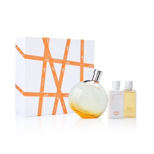 Eau Des Merveilles by Hermes 3 piece gift set for women