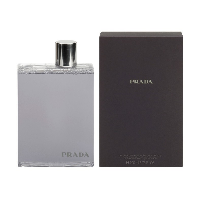 Prada Amber Pour Homme 6.75 oz Bath & Shower Gel