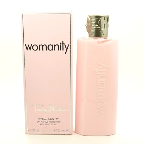 Womanity by Thierry Mugler 6.7 oz Body Milk