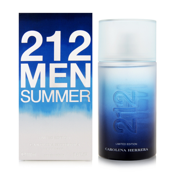 212 Men Summer by Carolina Herrera 3.4 oz EDT for men