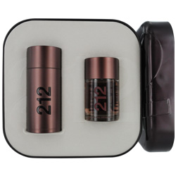 212 Sexy by Carolina Herrera 2 Pc Gift Set for men