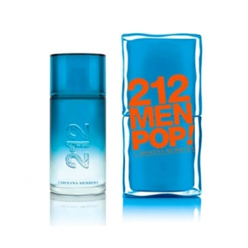 212 Pop! by Carolina Herrera 3.4 oz EDT for men
