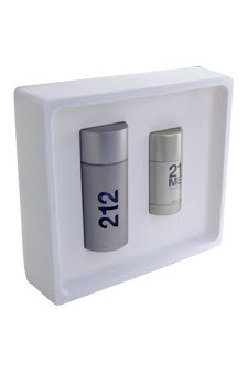 212 by Carolina Herrera 2 Pc Gift Set for Men