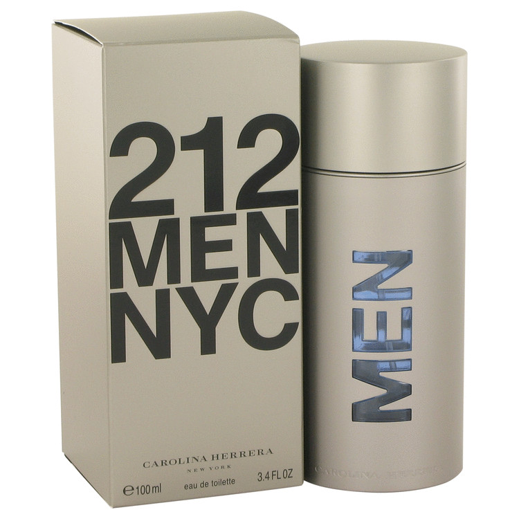 212 by Carolina Herrera 3.4 oz EDT Tester for Men