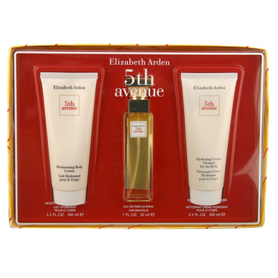 5th Avenue by Elizabeth Arden 3 Pc Gift Set for Women