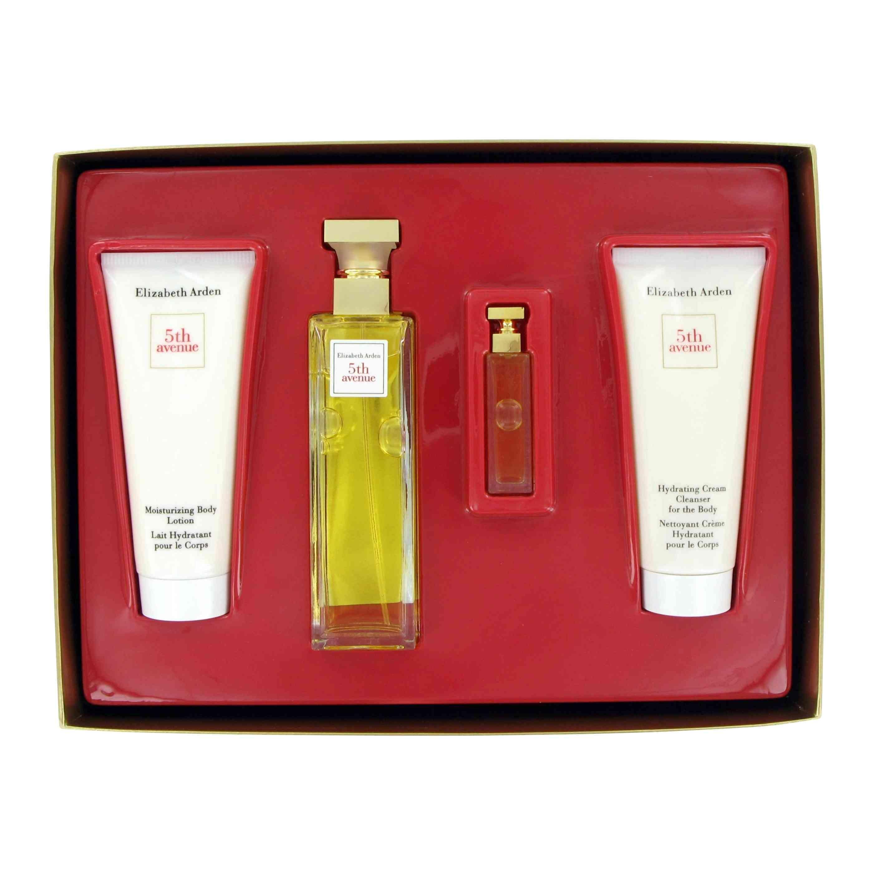5th Avenue by Elizabeth Arden 4 Pc Gift Set for Women