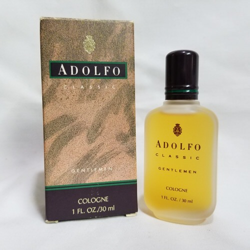 Adolfo Classic Gentlemen 1 oz Cologne splash for men