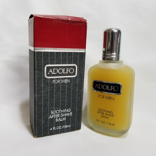 Adolfo 4 oz Soothing After Shave Balm