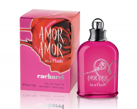 Amor Amor In a Flash by Cacharel 3.4 oz EDT for women