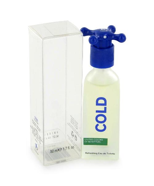 Cold by Benetton 3.4 oz EDT for Men