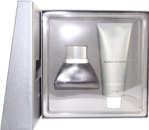 Black Diamonds by Canali 2 Pc Gift Set for men