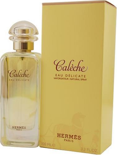 Caleche Eau Delicate by Hermes 3.3 oz unbox for women