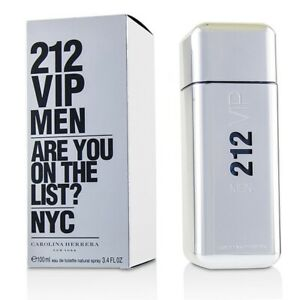 212 VIP Men by Carolina Herrera 3.4 oz EDT for men