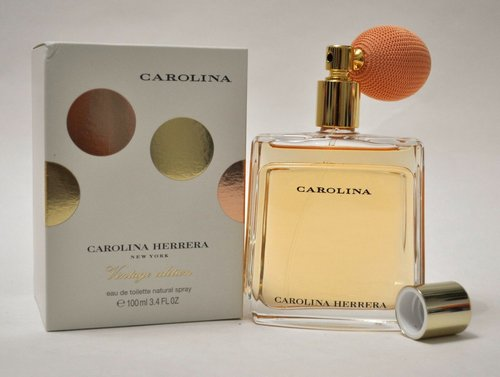Carolina vintage edition by Carolina Herrera 3.4 oz EDT women