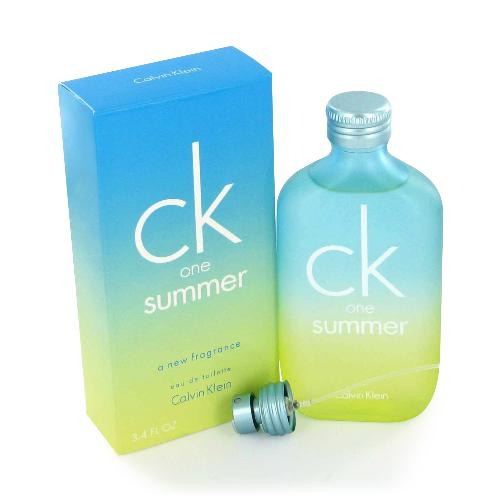 Ck One Summer 2006 by Calvin Klein 3.4 oz EDT for men and Women