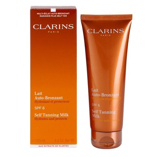 Clarins Self Tanning Milk SPF 6 Sunscreen 4.2 oz / 125ml