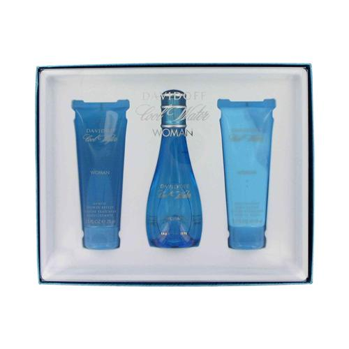 Cool Water by Davidoff 3 Pc Gift Set for Women