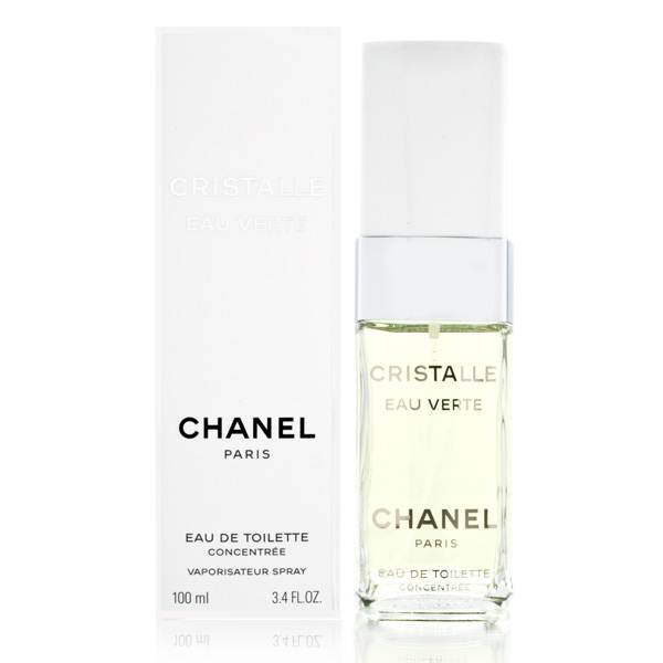 Cristalle Eau Verte by Chanel 3.4 oz EDT Concentree UNBOX