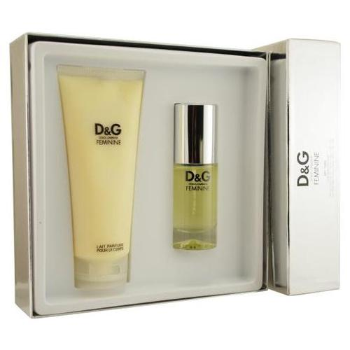 D & G Feminine by Dolce & Gabbana 2 Pc Gift Set for women