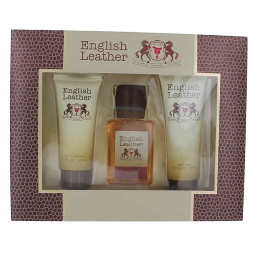English Leather by Dana 3 piece gift set for men