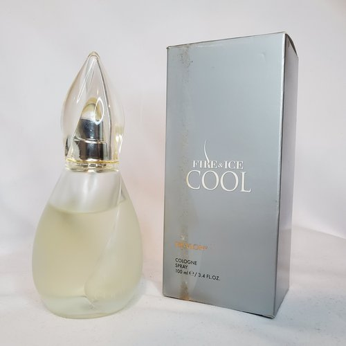Fire & Ice Cool by Revlon 3.4 oz Cologne 90% full for women