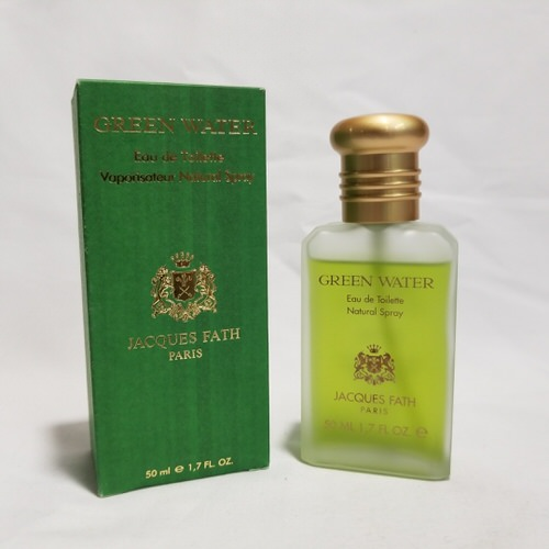 Green Water vintage by Jacques Fath 1.7 oz EDT for men