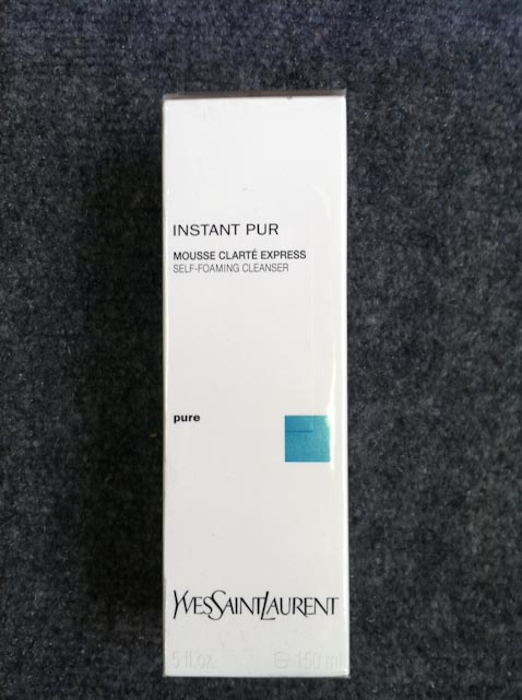 Instant Pur Self Foaming Cleanser by YSL 5oz/150ml