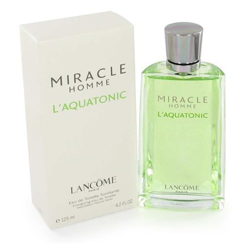 Miracle L'aquatonic by Lancome 4.2 oz EDT for men