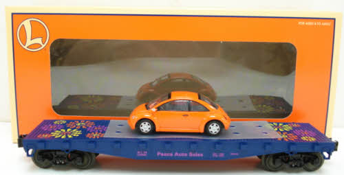 Lionel 6‑19444 Flatcar with Volkswagen Bug