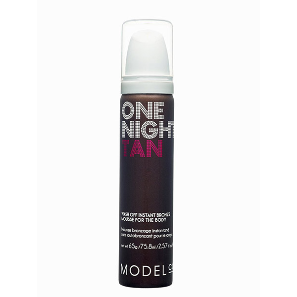 ModelCo One Night Tan Wash Off Instant Bronze Body Mousse Tanner