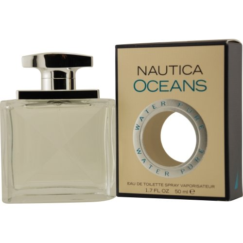 Nautica Oceans by Nautica 3.4 oz EDT tester for men