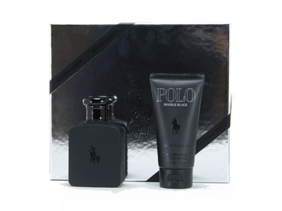 Polo Double Black by Ralph Lauren 2 Pc Gift Set for men