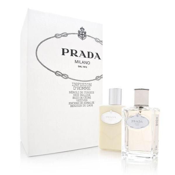 Prada Infusion D'Homme 2 piece gift set for men