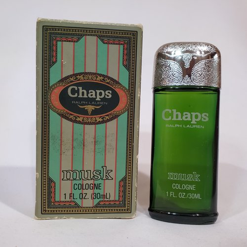 Chaps Musk by Ralph Lauren 1 oz cologne splash for men