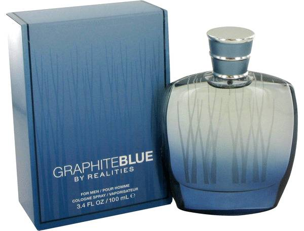 Realities Graphite Blue by Liz Claiborne 3.4 oz Cologne for men