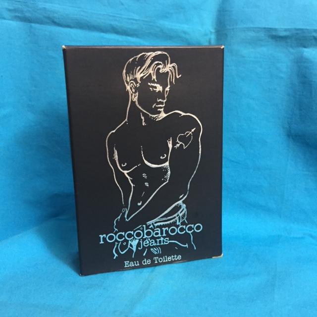 Black Jeans Pour Homme by Roccobarocco 2.5 oz EDT UNBOX