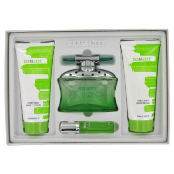 Sex In The City Kiss by InStyle 4 Pc Gift Set for Women