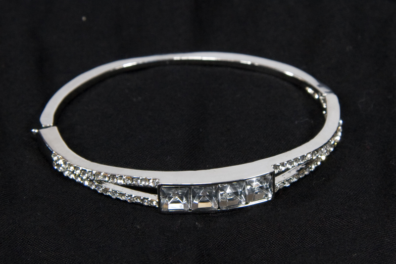 Swarovski Crystal Bracelet for Prom or Bridal Jewelry
