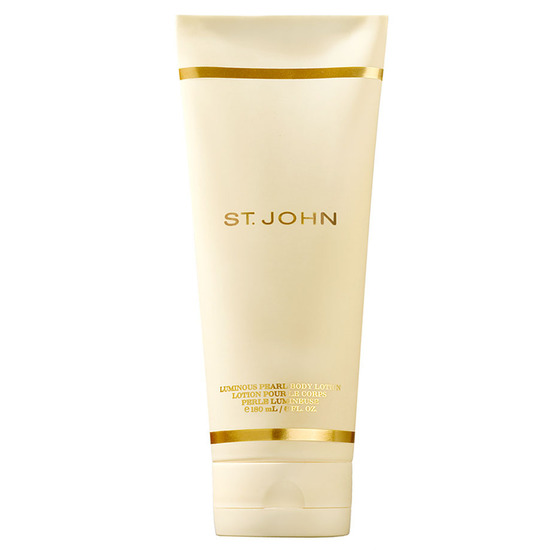 St John Signature 6 oz Luminous Pearl Body Lotion Unbox