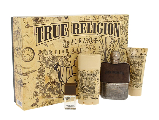 True Religion by True Religion 4 Pc Gift Set for men
