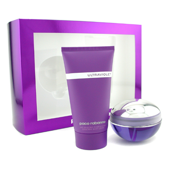 Ultraviolet by Paco Rabanne 2 Pc Gift Set for women